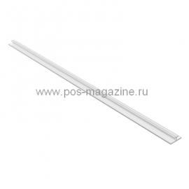 Профиль опорный узкий, прозрачный, на скотче, ширина 12 мм