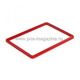 Рамка пластиковая односекционная формата А4