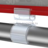 Держатель рамки с креплением на трубу диаметром 25 мм