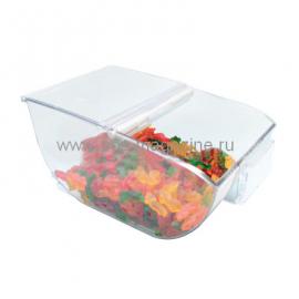 Контейнер для сыпучих продуктов с крышкой, 8 л, 200х175x330 мм