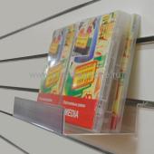 Подставка для дисков на экономпанель с ценникодержателем DBR339