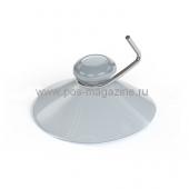 Присоски силиконовые для стекла с металлическим крючком