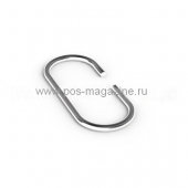Крючок C-образный, металлический