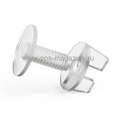 Винт, пластик, длина 12 мм