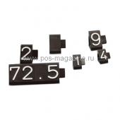 Призматические цифровые модули для рублей
